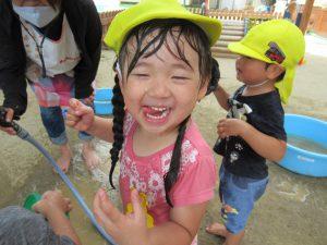 暑い夏は、毎日が水遊び!