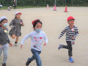 みんなで走って鬼ごっこをしたりして、とても楽しい時間を過ごすことができました。